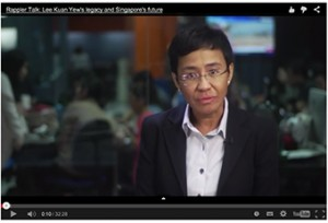 My interview with Maria Ressa of Rappler.com.